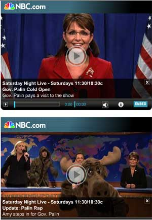 Sarah Palin funny videos
