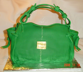 Dooney & Burke Purse Cake - Vanila & Chocolate Chip