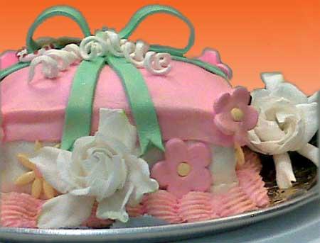 Flower Cake Gift Box