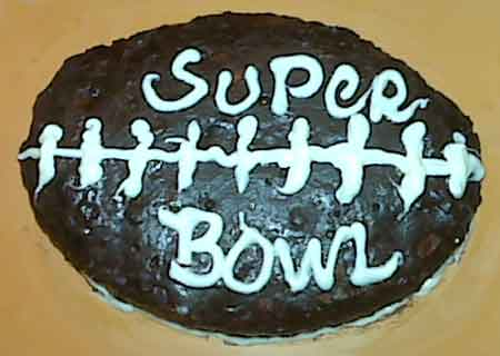 Super Bowl Brownie XLIII