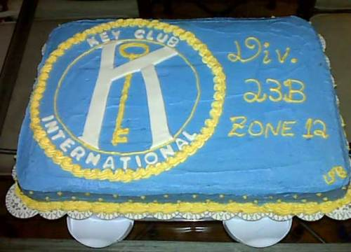 Key Club cake - chocolate and butter cream cake